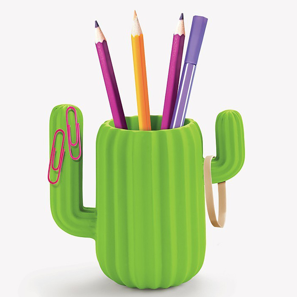 Simple Desktop Organizer Gift Container Magnetic Attraction Cute Fashion Student Cactus Style Multifunctional Home Pen HolderSimple Desktop Organizer Gift Container Magnetic Attraction Cute Fashion Student Cactus Style Multifunctional Home Pen Holder