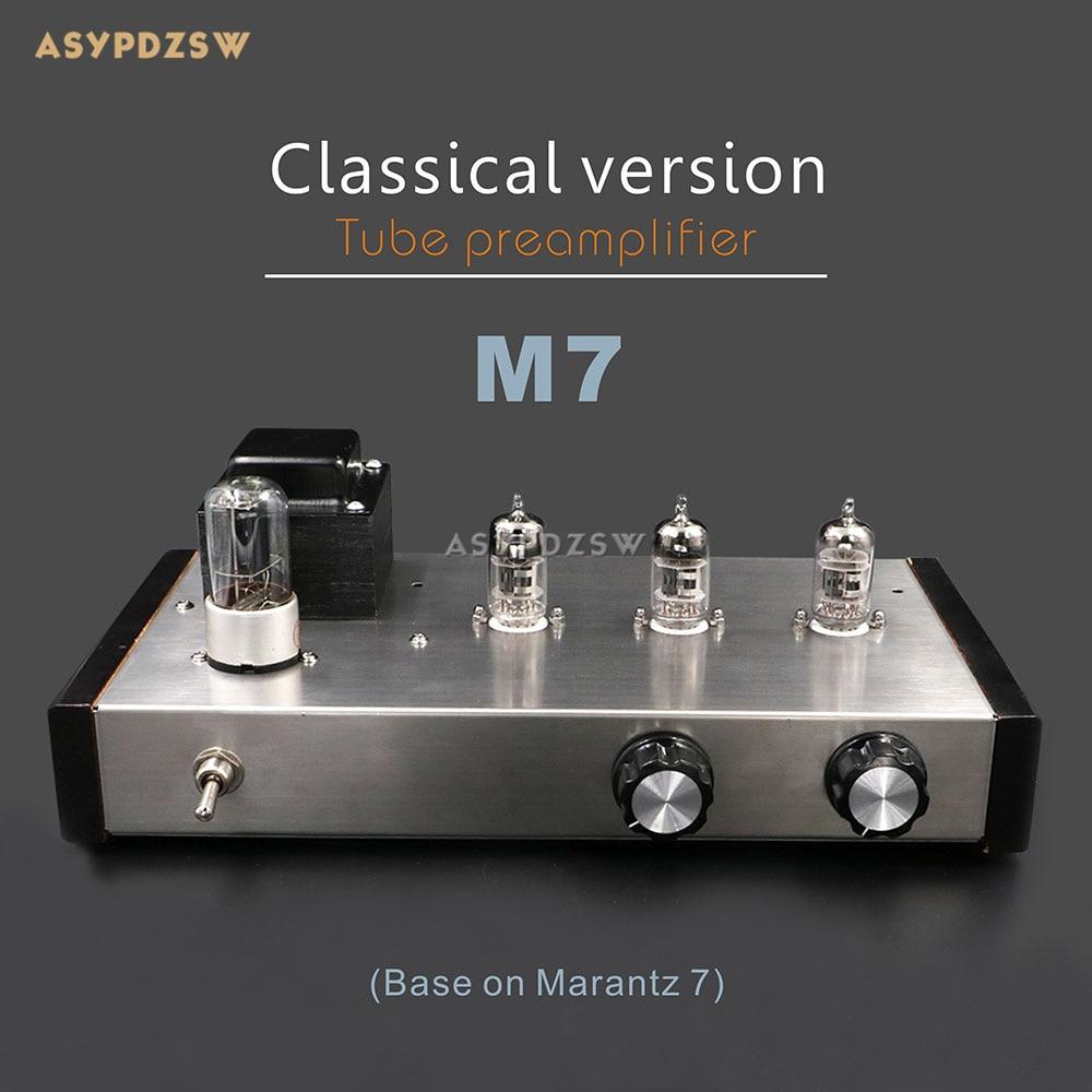 Classical version M7 Tube preamplifier Base on Marantz 7 Preamp 6Z5P+12AX7B pult ru 38 marantz canton