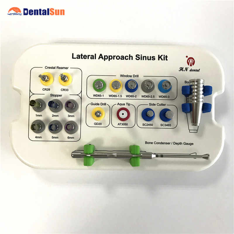 CE aprobado por la FDA de implante Dental Lateral enfoque sinusal Kit