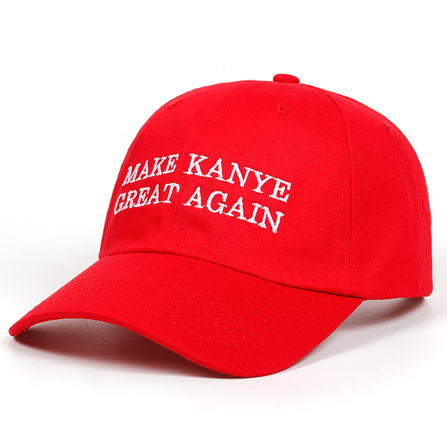 Juses is king Make Kanye Great Again dad Hat  2