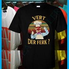 193d26805 Swedish Chef Vert Der Ferk Sunset Vintage Retro Men's T Shirt Cotton Tee  S-XXL
