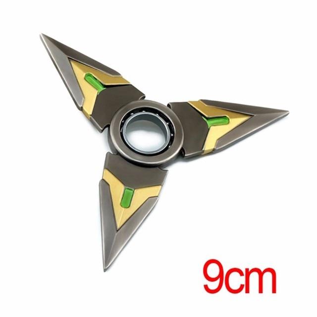 Over watches Dart Figure Cosplay Metal Weapons ow Darts Genji Shurikens Cosplay 9cm 7 Type