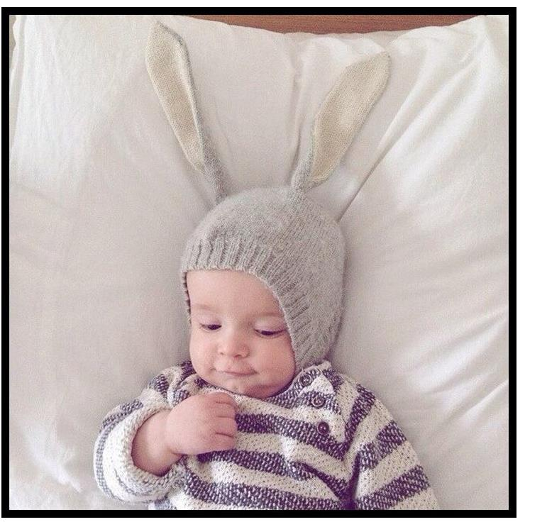 280a098ce59 Detail Feedback Questions about Baby Beret Hats Newborn Knit Safety ...
