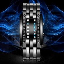 BOAMIGO Brand Watch Men Digital Watches Creative LED
