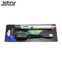 500pcs/lot Jstar MT3 Evod Blister Kit Electronic Cigarette MT3 atomizer 650/900/1100mAh Evod Battery E Cigarettes 10 Colors