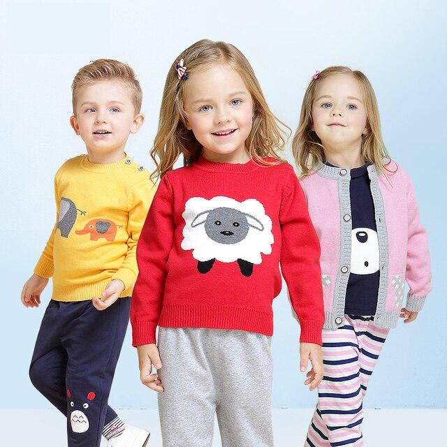 da09ca065 2018 Fall New Little Girls Fashion Cartoon Knitted Woollen Sweater ...