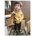 2016 new fashion autumn cotton full cartoon casual fish print hoodies boys clothes jacket coat children kids tops baby outwear