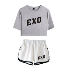 EXO Crop Top & Shorts Set (8 Models)
