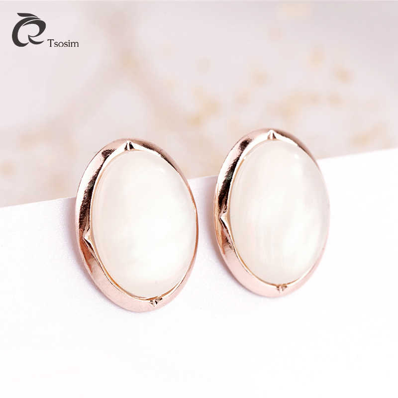 Clip earrings jewelry in clip EarJewelry for High quality  oval shell jewelry Earrings alloy For women Wholesale Free Shipping