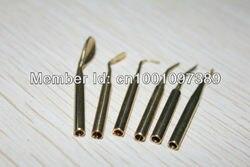 5 مجموعات الاكسسوارات الشمع المشمع نحت سكين الكهربائية الحرارة نصائح لل مختبر ، مجوهرات التجارة ، صناعة الموت نحت