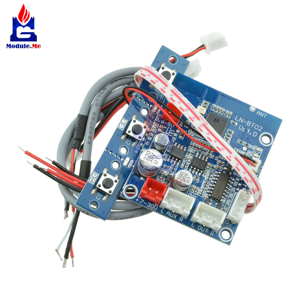 For Car Phone Bluetooth 4.0 Audio Receiver Board Wireless