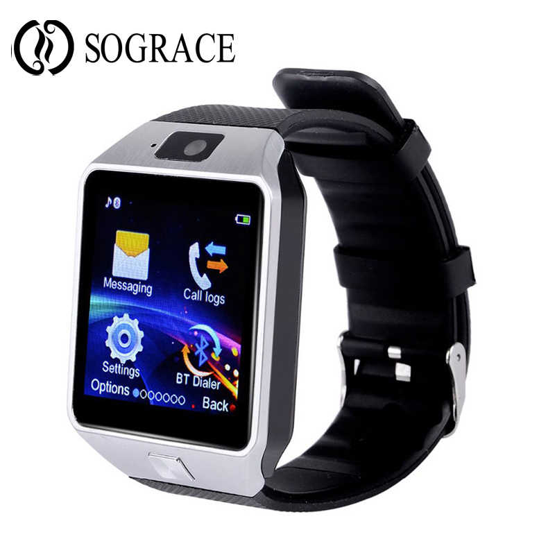 d5d7d23a1 ... Wearable Devices Smart Watch Ladies Android Waterproof Touch Screen  Sports Watch Mobile Phone with SIM Card ...