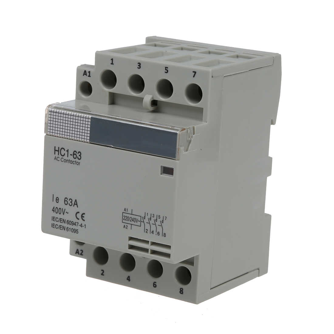 35 мм DIN поддержка viAC400V 634 pin модульный AC контактор для дома