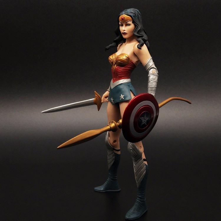 Wonder Woman Action Figure Justice League PVC Figure Toys 170MM Anime Movie Collectible Model Toy Batman v Superman Doll anime one piece dracula mihawk model garage kit pvc action figure classic collection toy doll