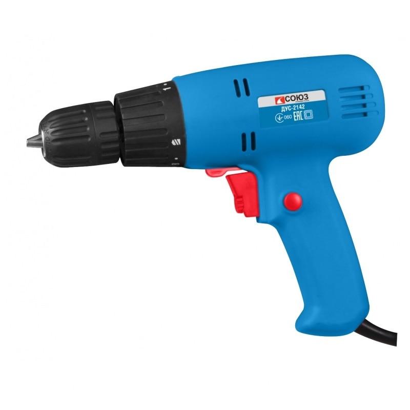 Drill screwdriver SOYUZ DUS-2142 electric drill soyuz dus 2150