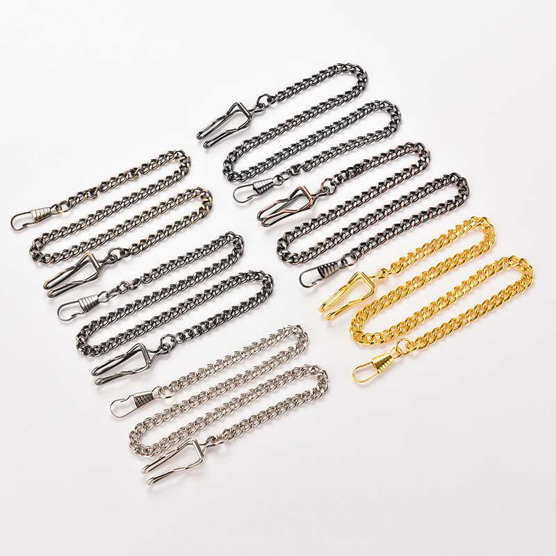 Родий/серебро/золото/Gunmetal/античная бронза цвет цепочки для ожерелья латунь оптом для DIY ювелирных изделий материалы