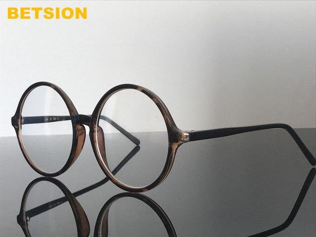 7ec9fac21c Oversize Vintage Round 58mm Tortoise Eyeglass Frames Rx able Full Rim  Glasses