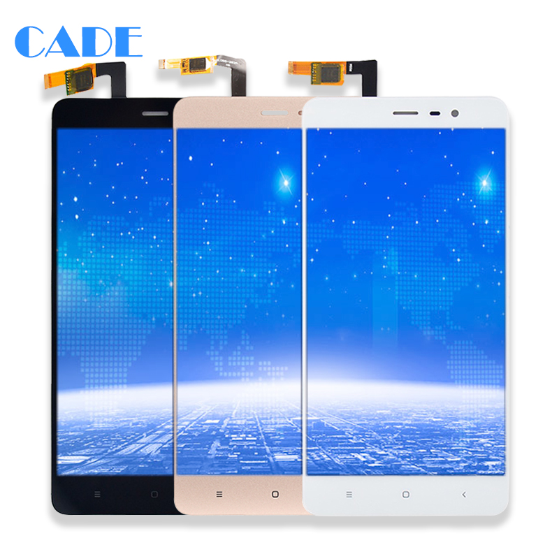 LCD Display For Xiaomi Redmi Note3 Touch Screen Mobile Phone Lcds Digitizer Assembly Replacement Parts 150mm With Free Tools