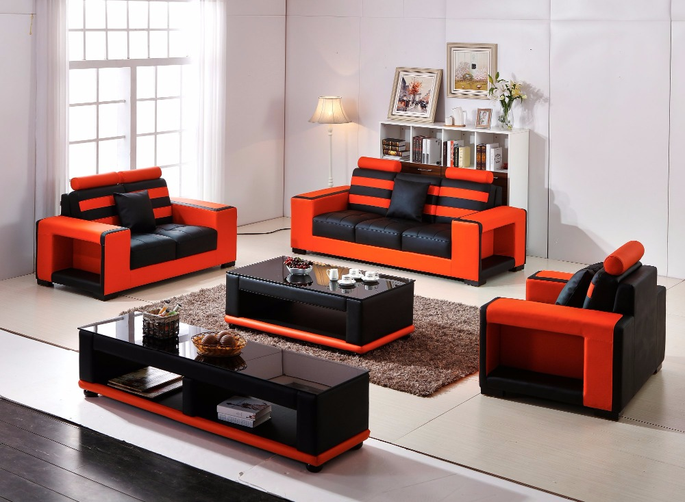 2018 Special Offer Set Sectional Sofa Armchair Bean Bag Chair Modern Design Hot Sale Luxury Living Room Furniture Sofa Group free shipping european style living room furniture top grain leather l shaped corner sectional sofa set orange leather sofa
