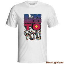 I Am Addicted To You T Shirt Cool Fashion Pop Anime Short Sleeve T-shirt Casual Style Print Unisex Tee