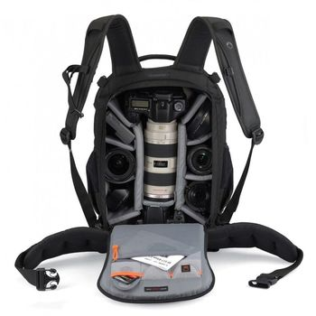 Wholesale Gopro Lowepro Flipside 400 AW Digital SLR Camera Photo Bag Backpacks with Weather Cover waterproof