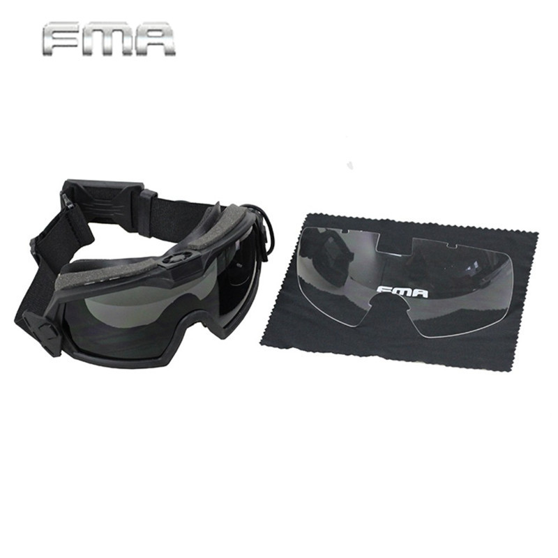 FMA LPG01BK12-2R Regulator Updated Version Goggle With Fan Tactical Combat Hunting Paintball Safety Eyeglasses TB1029 wltoys v676 2 4ghz 4 ch outdoor r c ufo helicopter aircraft w 6 axis gyro lamp white green