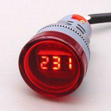 22mm voltmeter  AC50~600V volt gauge  voltage meter  volt meter  Indicator lamp voltage meter цена и фото