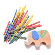 Baby Toys Educational Elephant/Camel Balancing Blocks Wooden Toys Beech Wood Balance Game Montessori Blocks Gift For Child