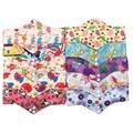 1 Pcs Reusable Panty Liner Washable Menstrual Mama Sanitary Pads Bamboo Cloth Colorful 28.5 x 16.5 cm