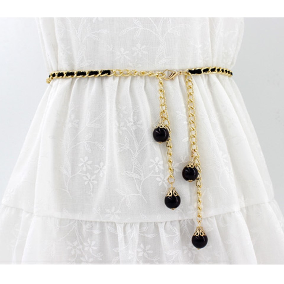 Fashion Women's Waist Chain Belt Sexy Punk Chunky Fringes Belly Chains Female Gold Metal Waist Chain Casual Decor Jewelry