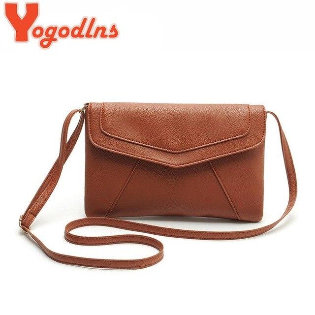 Yogodlns случайный кожаные сумки новые свадебные клатчи дамы партия кошелек ofertas женщины crossbody messenger плечо школьные сумки