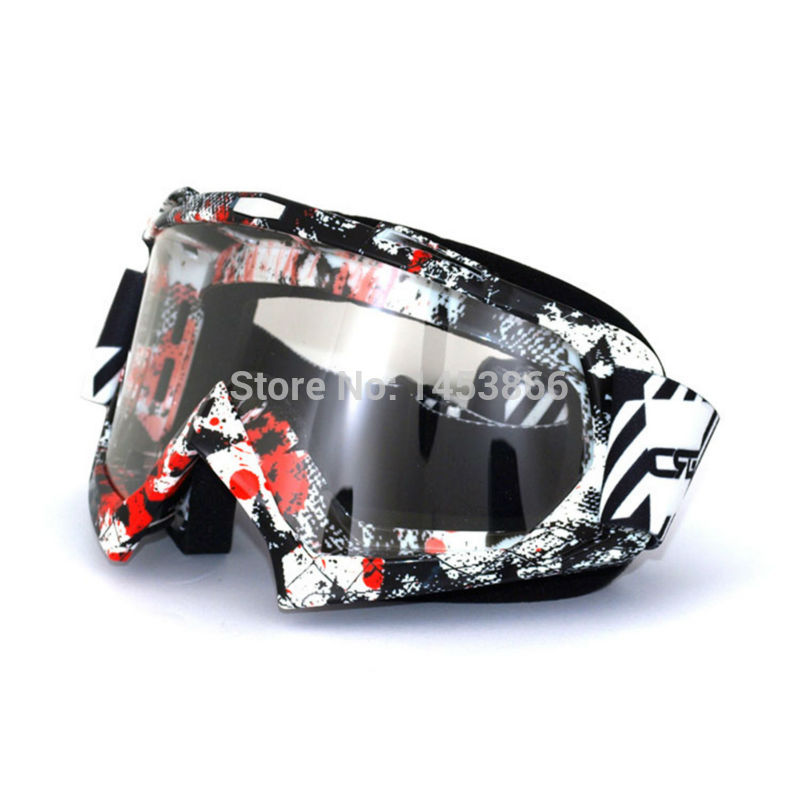 Adult motocross dirt bike Mx ATV motorcycle ski goggles glasses moto Biker Windproof goggle