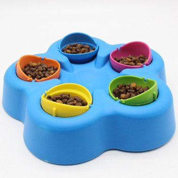 Pet IQ Puzzle toy Cat dog toy cat Bowl dog bowl fun toy look for food smart toys toy