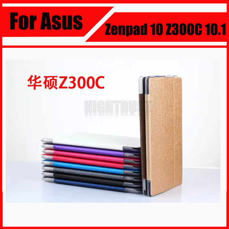 3 in 1 Top Quality Pu Leather Stand Flip Case Cover For Asus Zenpad 10 Z300C Z300CL Z300CG Tablet PC + Screen Film + Stylus asus zenpad 3s 10 z500m tablet pc