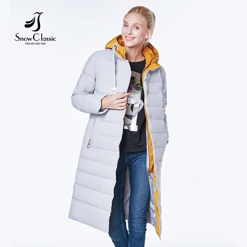 Neige Classique 2018 camperas mujer abrigo invierno veste femmes manteau femmes parc Couture conception Européenne, épais, chaud couleur chapeau