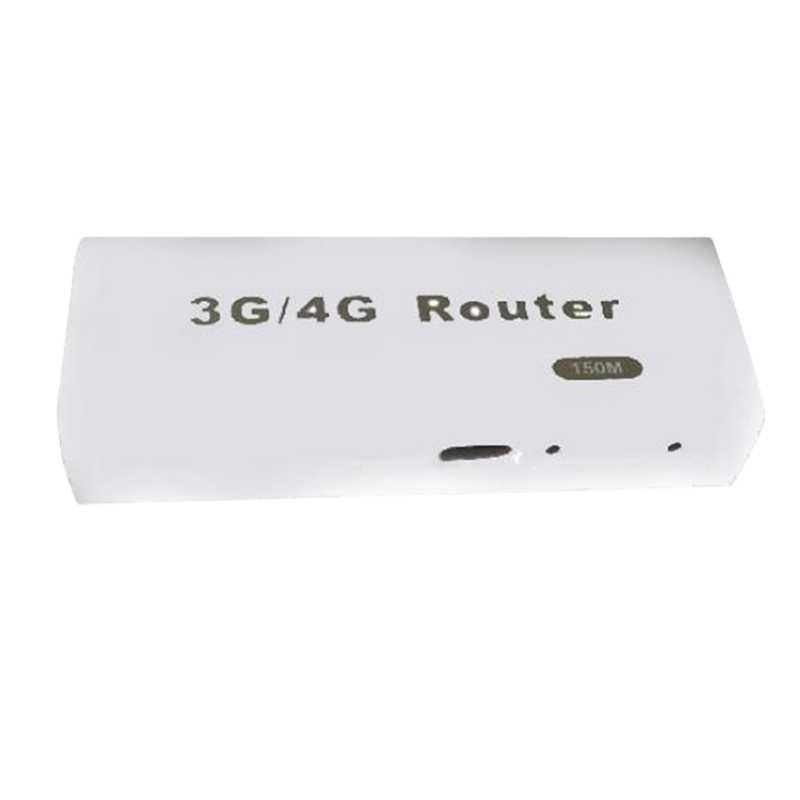جهاز كمبيوتر لوحي صغير 3G/4G واي فاي Wlan هوت سبوت Ap العميل 150Mbps Rj45 Usb شبكة راوتر لاسلكي ل Ios شاحن هاتف محمول يعمل بنظام تشغيل أندرويد