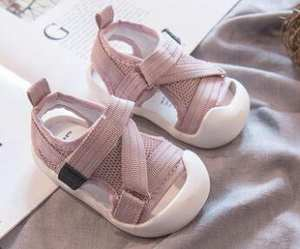 Toddler Shoes Baby Children Summer 0 4 Mesh Sandals Soft-Bottom Old-Boy Female 1-3