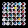 MAKEUP 36 COLOR GLITTER SHIMMER Powder Eyeshadow Eye Shadow Salon Artist Set 13