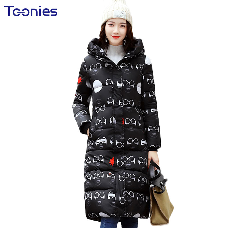 Winter Thick Hooded Maternity Down Coat for Pregnant Women Jacket Clothes Fashion Camouflage Pregnancy Maxi Outerwear Plus Size