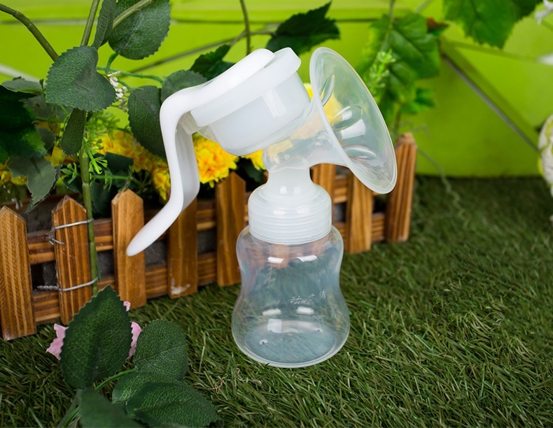 Manual Large Suction Breast Massage Sucking Milk Sucker Massager Puller Milker Pump 150ml Bottle