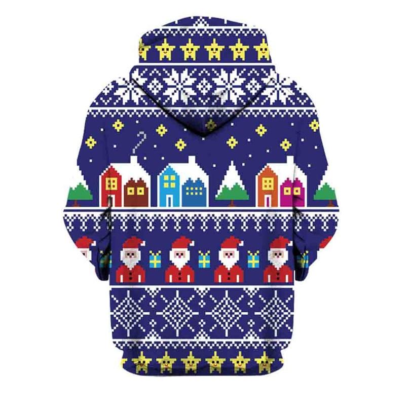 Christmas Couples Hoodies Women Man Running Jackets 3D Print Long Sleeve Winter Hoodies Top Blouse Shirts #2N20 (11)
