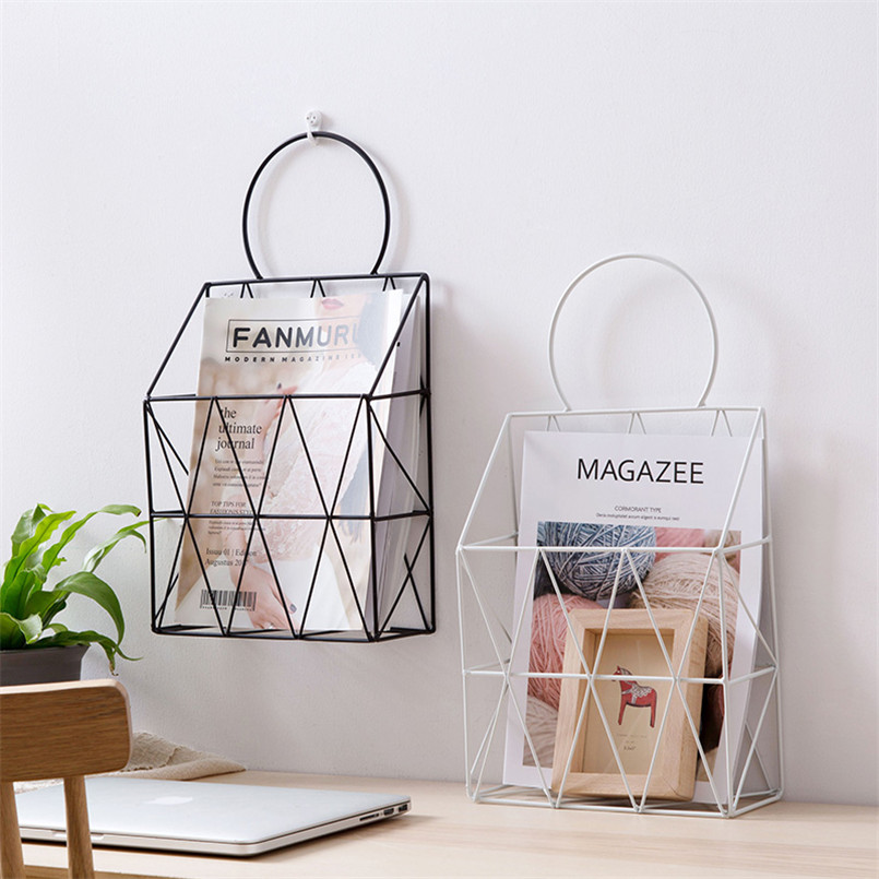 Books Newspapers Stationery Magazine Organizer For Bedroom
