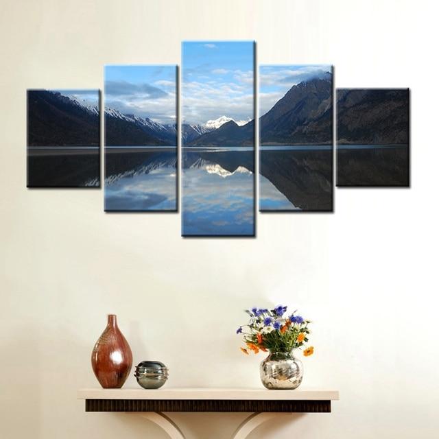 Lienzo de pared paisaje HD impresión pintura cuadros para comedor ...