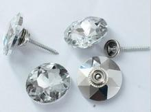Edelsteen Crystal Knoppen 5Size 50 Stuks Zachte Tas Sofa Schroeven Diamond Gesp Crystal Knop Achtergrond Decoratieve Knop