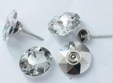 gemstone crystal buttons  5size 50pcs soft bag Sofa screws diamond buckle Crystal Button Background decorative Button