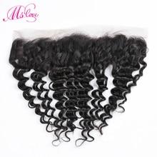 Cheveux brésiliens lace frontal Closure non remy Ms Love