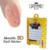 1 Docena de 3d Diseño Tip Nail Art Sticker Uñas tatuajes de Mezcla de La Manicura Del Clavo Matallic Decoratoins Color Al Azar JM-A008 Alta calidad