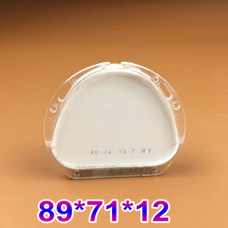 1 Piece HT ST 89*71*12mm Dental Zirconia Ceramic Blocks for Amann Girrbach System Making Fixed Partial Dentures 89 71 16mm 89 71 18mm dental zirconia blocks 5pcs cad cam amann girrbach system dental ceramic blocks making crowns
