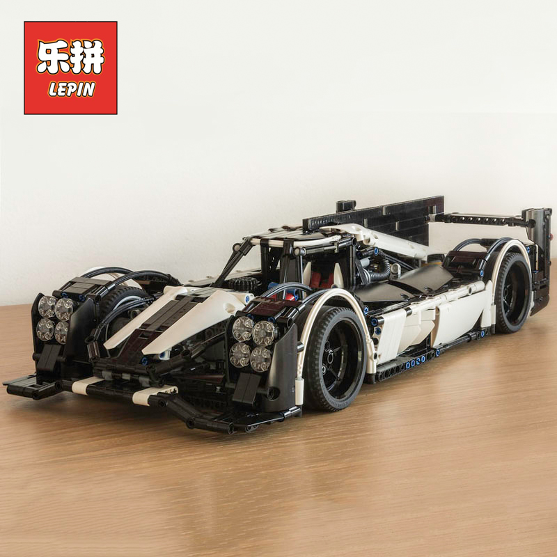 Lepin 23018 Technic the MOC-5530 Hybrid Super Racing Car F1 Set Legoinglys Model Building Blocks Bricks Speed Champions Toys цена