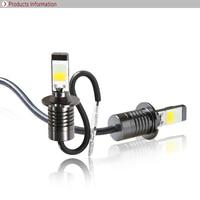 Car Styling H3 LED 35W 3500LM 6000K Super Bright Car Headlights Auto Front Bulb Automobile Headlamp